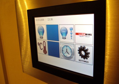 KNX project for lighting and clima control in Mallorca