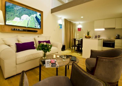 Full project audio, video, sound & communications on Hotel Palma Suites