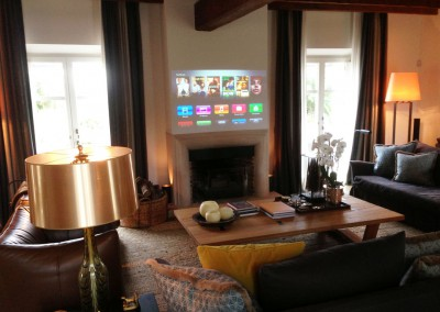 Video Projection system based in touchscreen